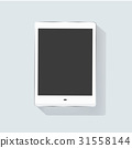 Icon graphic digital tablet vector illustration 31558144