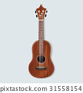 Acoustic Classical Guitar Music Instrument Icon Illustration Vector 31558154