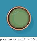 Green Tea Healthy Drink Beverage Icon Illustration Vector 31558155