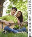 감정, 나무, 로맨틱 31558245