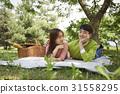 감정, 나무, 로맨틱 31558295