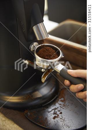 손,커피메이커,카페 31558411