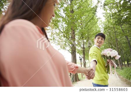 커플,일산호수공원,일산,고양시,경기도 31558603