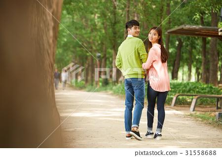 커플,일산호수공원,일산,고양시,경기도 31558688