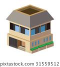 独立式住宅 房子 三维 31559512
