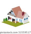 独立式住宅 房子 三维 31559517