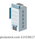 像素化 計算機描繪的圖像 立體的 31559617