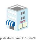 3D建築商店設施19 31559628