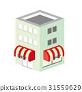 像素化 計算機描繪的圖像 立體的 31559629
