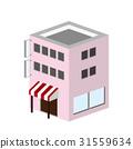 3D建築商店設施25 31559634