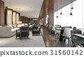 reception luxury restaurant 31560142