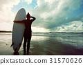 海滩 女性 女 31570626