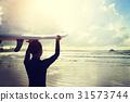surf Board Beach 31573744