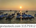 궁평항, 노을, 바다 31575912