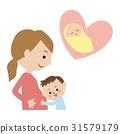 Pregnancy illustration 31579179