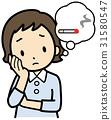 담배, 흡연, 여성 31580547