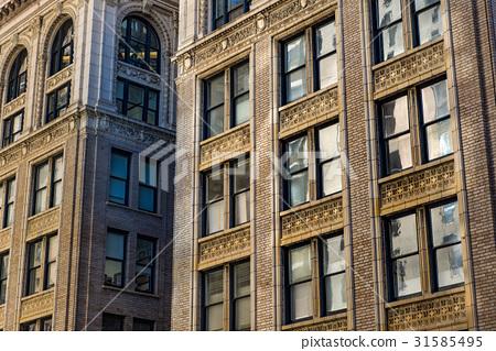 Building windows background 31585495
