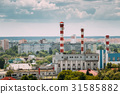 Gomel, Belarus. Cityscape And Thermal Power Plant 31585882
