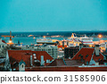Tallinn, Estonia. Modern Ferry Ferryboat Tallinnk 31585906