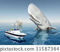 Sea angler and sperm whales 31587364
