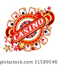 gambling, casino, vector 31589546