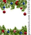 分支 卡片 圣诞节 31591971