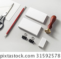 Photo of blank stationery 31592578