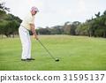 男性 男 高尔夫球 31595137
