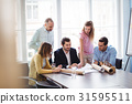 Businesswoman, Colleagues, Business 31595511