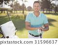 男性 男人 高尔夫球俱乐部 31596637