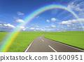 초원의 길과 구름과 무지개 31600951