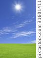 草原和太陽 31601411