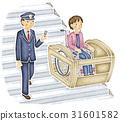 인물, 역무원, 역 31601582