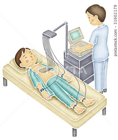 Men who undergo electrocardiography 31602179