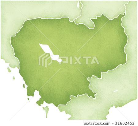 柬埔寨的地圖 31602452