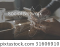 Global Network Online Communication Connection 31606910