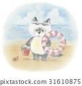 바다와 고양이 31610875