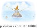 มหาสมุทร,ลูกแมว,ตกปลา 31610889