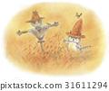 在草帽的一隻貓 31611294