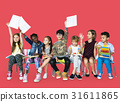 Group of students educated child development 31611865