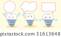 tooth implant with speech bubble 31613648