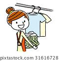 여성, 여자, 세탁 31616728