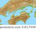 map, shikoku region, Chugoku region 31617446