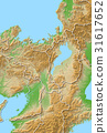map, lake biwa, shiga 31617652