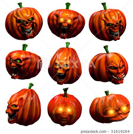 Halloween pumpkins  31619264