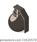 grenade, hand, icon 31620570