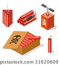 dynamite icon set 31620609
