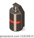 grenade, hand, icon 31620615