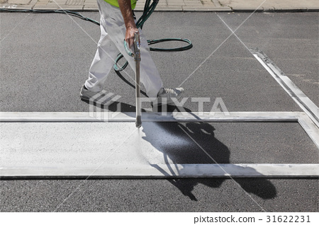 Crosswalk repairing and painting 31622231