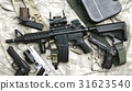 Weapons and military equipment for army. 31623540
